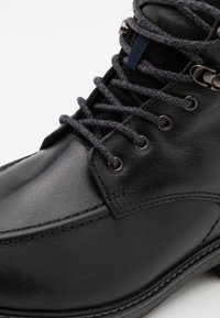 Timberland - OAKROCK WP ZIP BOOT - Lace-up ankle boots - black - 5