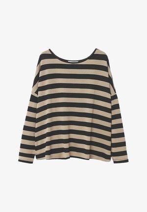 KYOTO - Long sleeved top - open beige