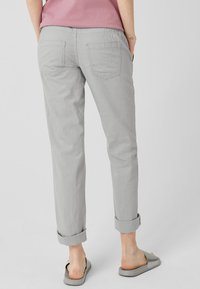 Q/S designed by - Trousers - light grey - 2