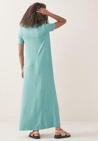 Next - COLUMN  - Maxi dress - teal - 2