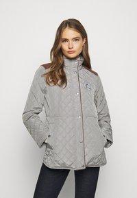 Lauren Ralph Lauren - Krátký kabát - prince grey - 0