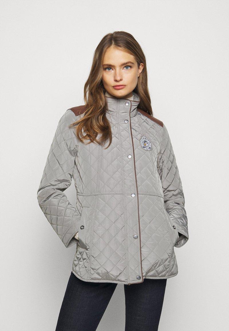 Lauren Ralph Lauren - Krátký kabát - prince grey