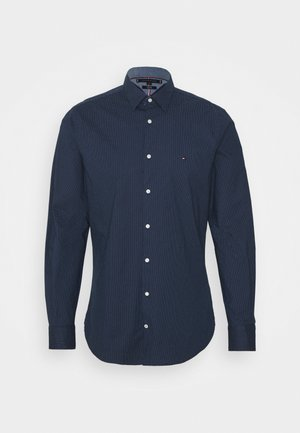 FLEX MINI DOT SLIM SHIRT - Košile - navy/ white