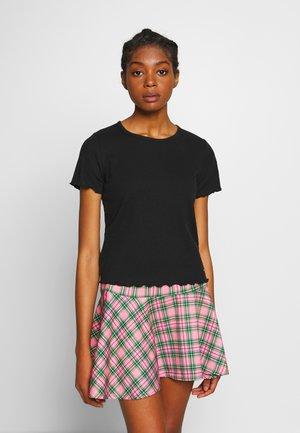LETTUCE BABY - Camiseta estampada - black