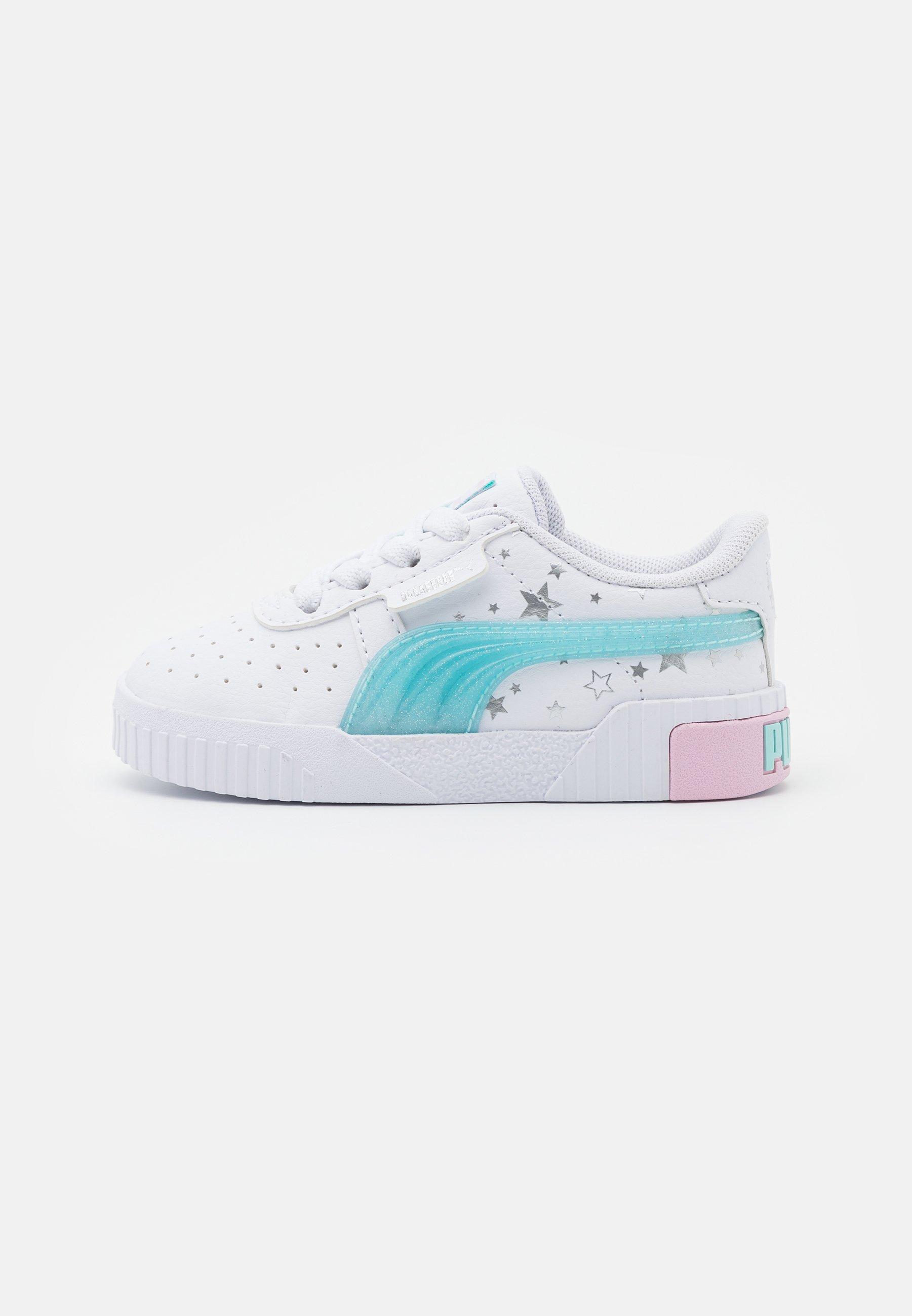 Puma CALI UNICORN - Trainers - pink lady/white/pink - Zalando.ie