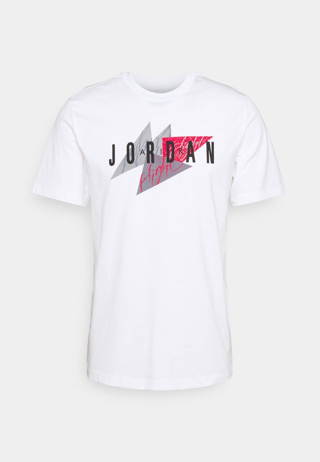 JUMPMAN AIR CREW - Print T-shirt - white