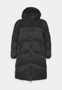 Vero Moda Curve - VMUPSALA LONG JACKET  - Winter coat - black - 5