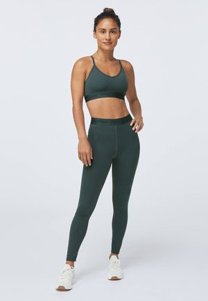 LOGO COMFORT - Sports bra - evergreen