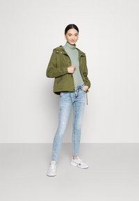 JDY - JDYNEWHAZEL SHINE JACKET - Summer jacket - winter moss - 1