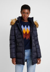 Marc O'Polo - COAT FILLED - Down coat - midnight blue - 2