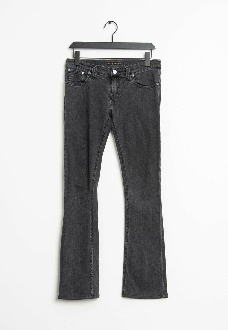 Nudie Jeans - Straight leg jeans - black