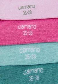 camano - WOMEN BASIC SILKY FEELING SNEAKER 4 PACK - Sokker - chateau rose - 1
