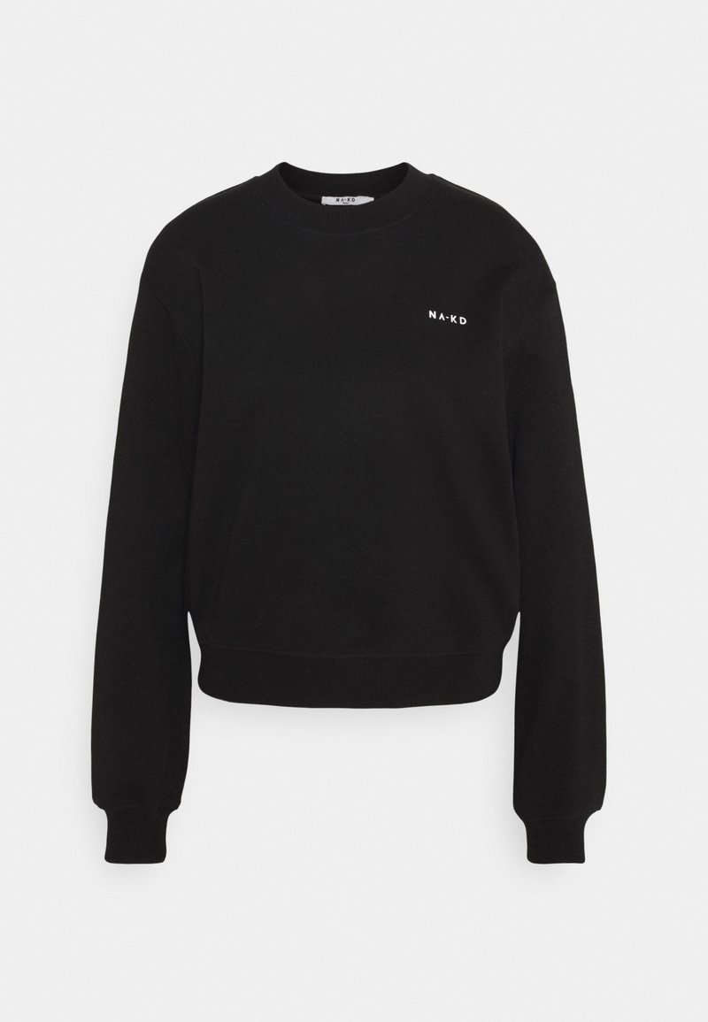 NA-KD LOGO BASIC - Sweatshirt - beige Br5rzB