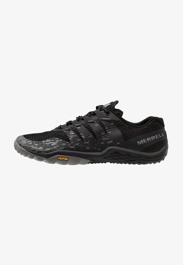 TRAIL GLOVE 5 - Chaussures de running - black/gray