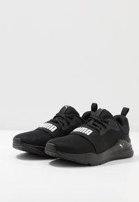 Puma - WIRED RUN - Neutral running shoes - black - 3