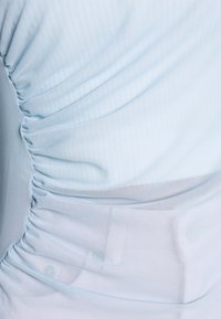 NA-KD - ASYMMETRIC GATHERED - Long sleeved top - blue - 6