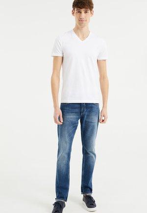2-PACK - Basic T-shirt - white