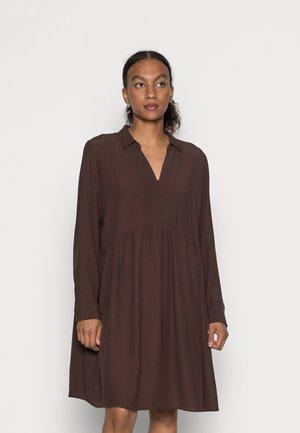 MOROCCAIN DRESS - Day dress - rust brown