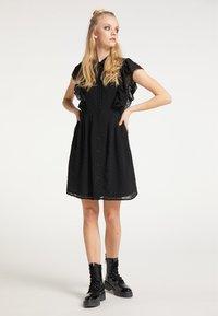 myMo ROCKS - Shirt dress - schwarz - 1