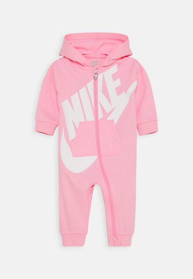 PLAY ALL DAY HOODED COVERALL - Jumpsuit - pink