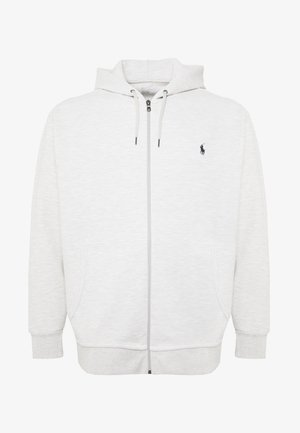 DOUBLE TECH HOOD - Zip-up hoodie - heather