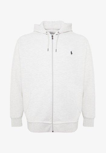 DOUBLE TECH HOOD - Zip-up hoodie - heather