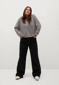 Violeta by Mango - GRESSY - Long sleeved top - grau - 1