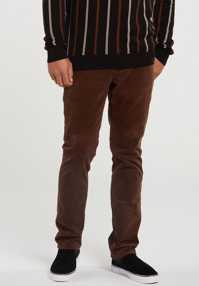 VORTA 5 POCKET - Broek - vintage_brown