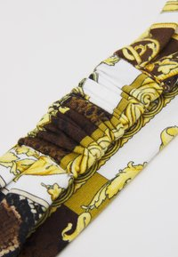 Versace - HAIR BAND HERITAGE PRINT - Ear warmers - gold/brown/white - 2