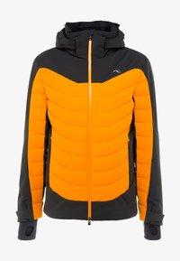 Kjus - MEN SIGHT LINE JACKET - Ski jacket - black/orange - 7