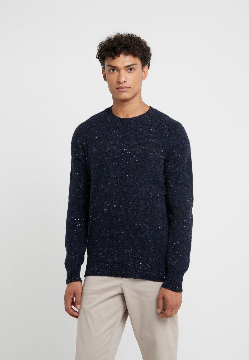 Drumohr - CREW NECK - Pullover - blue
