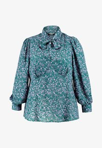 Fashion Union Plus - PEONIE PUSSYBOW BLOUSE - Blouse - multi-coloured - 4