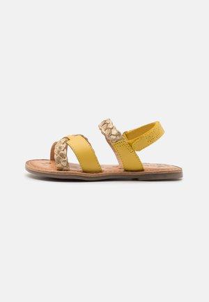 DIMDAMI - Sandals - jaune