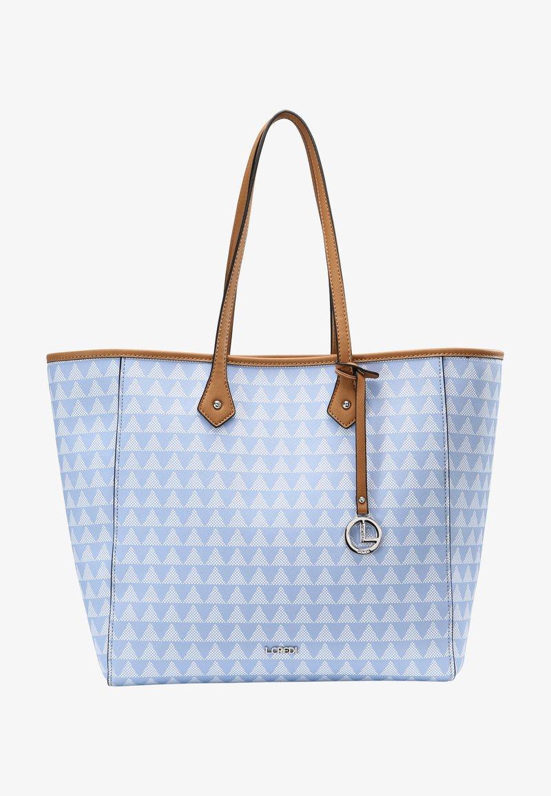 L.CREDI - EVE - Shopper - blue