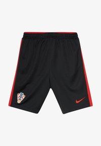 Nike Performance - KROATIEN CRO Y NK BRT STAD HA - Sports shorts - black/university red - 3