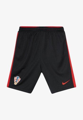 KROATIEN CRO Y NK BRT STAD HA - Sports shorts - black/university red