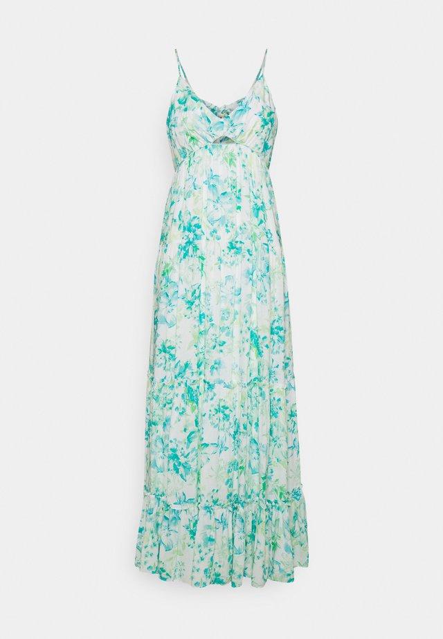 NINA TIERED MAXI DRESS - Sukienka letnia - ocean