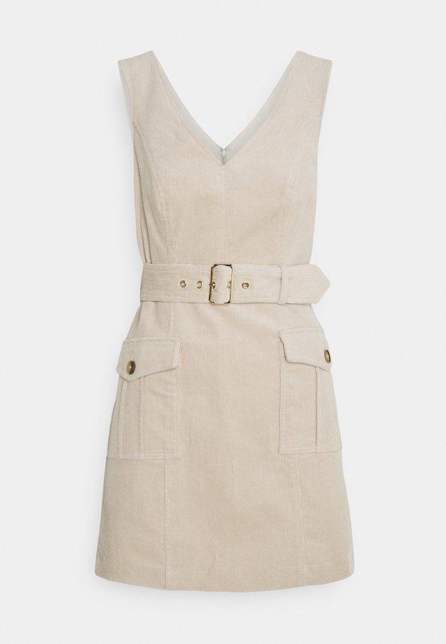 DELTA MINI DRESS - Day dress - beige