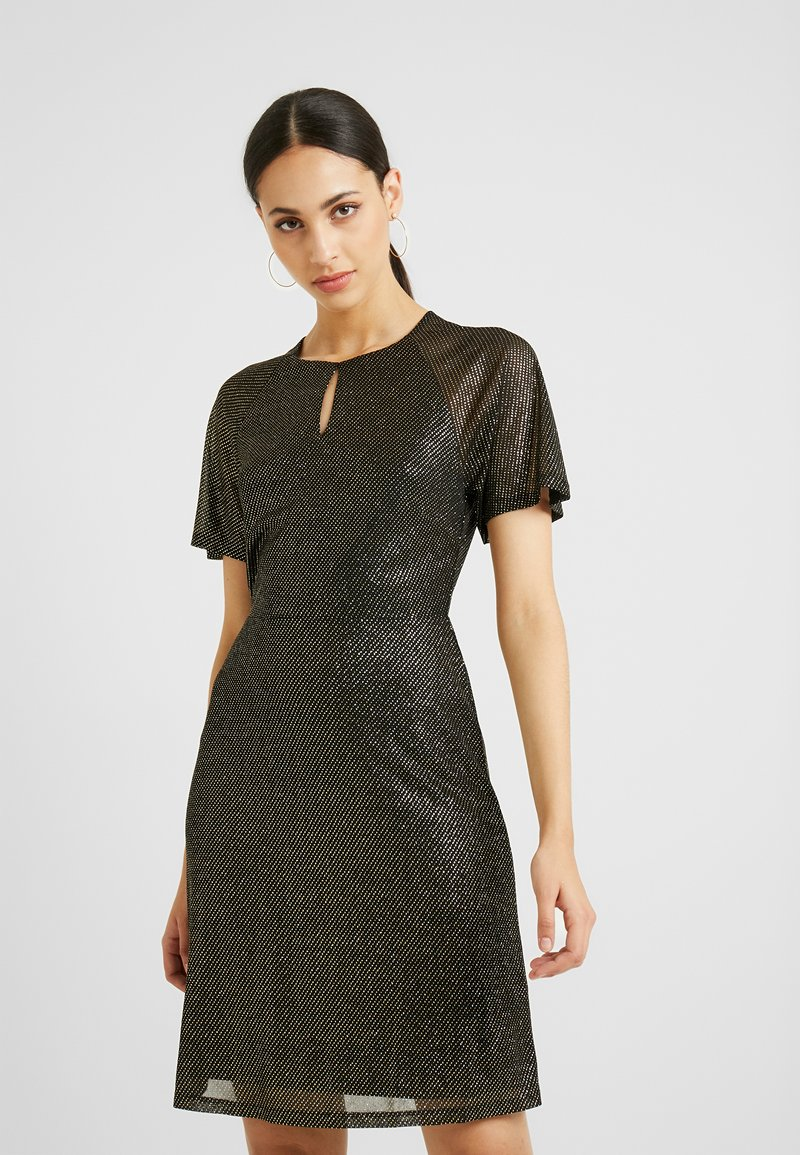 Dorothy Perkins Tall - KEYHOLE FIT AND FLARE - Cocktailkjole - bronze