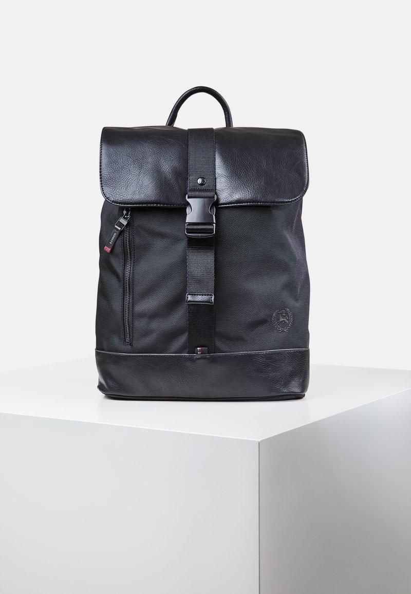 LERROS - BASIC - Rucksack - black