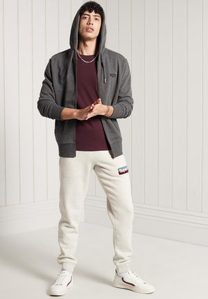 Tracksuit bottoms - off white marl