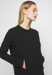 The North Face - WOMENS GLACIER CREW - Fleece jumper - black - 3