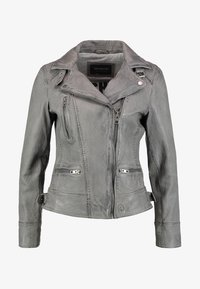 Oakwood - Leather jacket - anthracite - 6