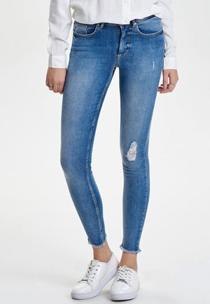 ONLY - Vaqueros pitillo - light blue denim