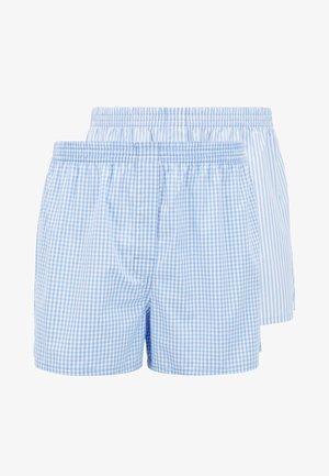 BOXER 2PACK - Boxershorts - open blue