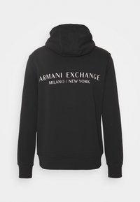 Armani Exchange - Felpa con cappuccio - phantom - 1