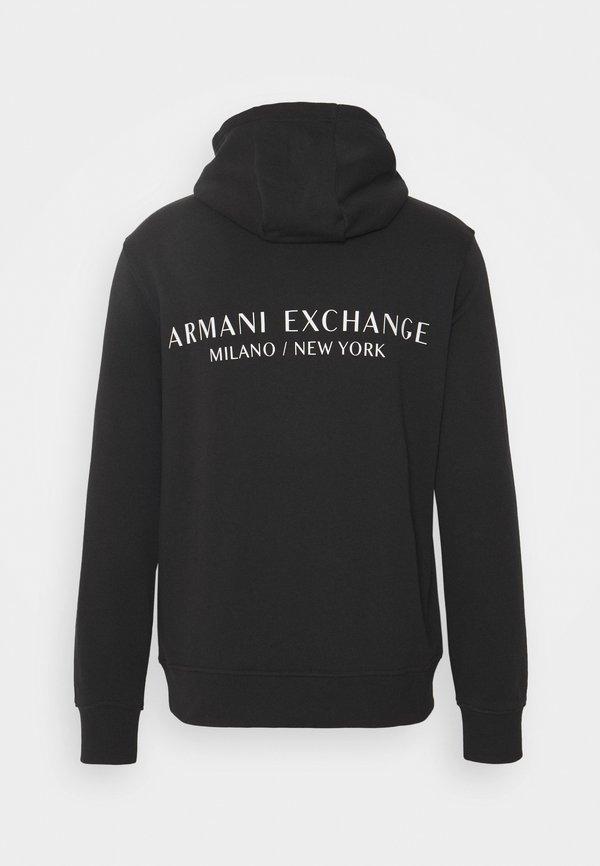 Armani Exchange Bluza z kapturem - phantom/ciemnoszary Odzież Męska MBZC
