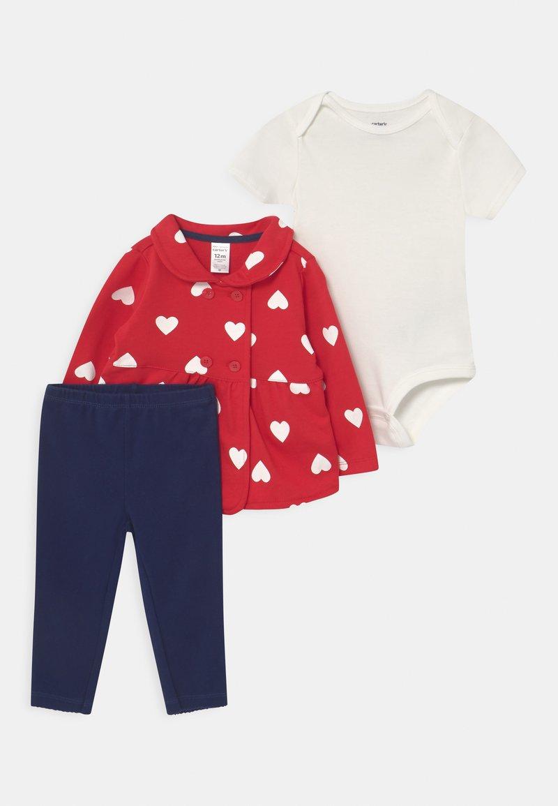 Carter's - SET - T-shirt basic - red