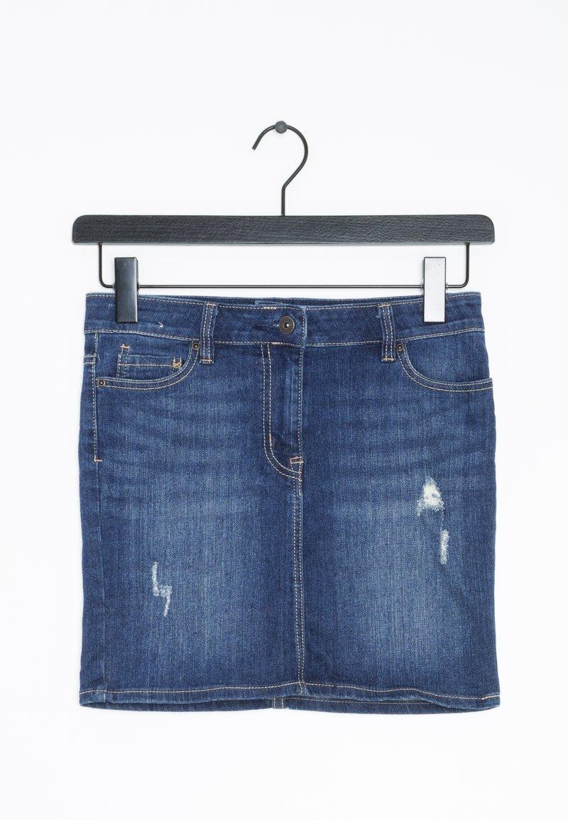 Next - Spódnica jeansowa - blue