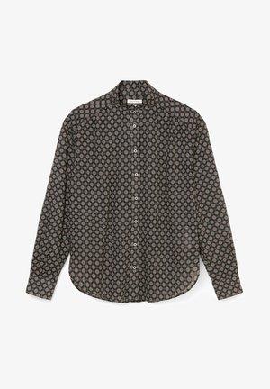 VOILE - Button-down blouse - black, black